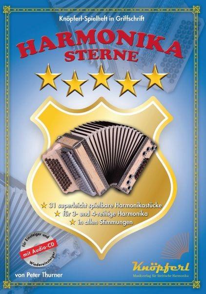 Harmonikasterne - leichte Spielstücke+CD