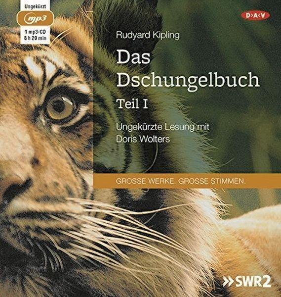 Kipling: Das Dschungelbuch 1 (1mp3-CD)