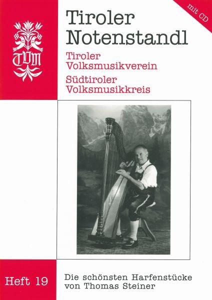 Heft 19 - Die schönsten Harfenstücke von Thomas Steiner mit CD