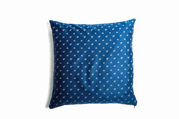 Zirbenkissen | Design Vergissmeinnicht blau