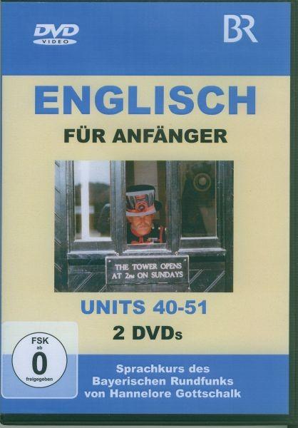 Englisch für Anfänger DVD 4-Units 40-51