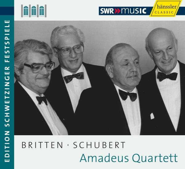 Britten/Schubert: Quartet Recital 1977
