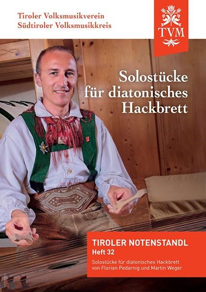 Heft 32 - Solostücke für diatonisches Hackbrett