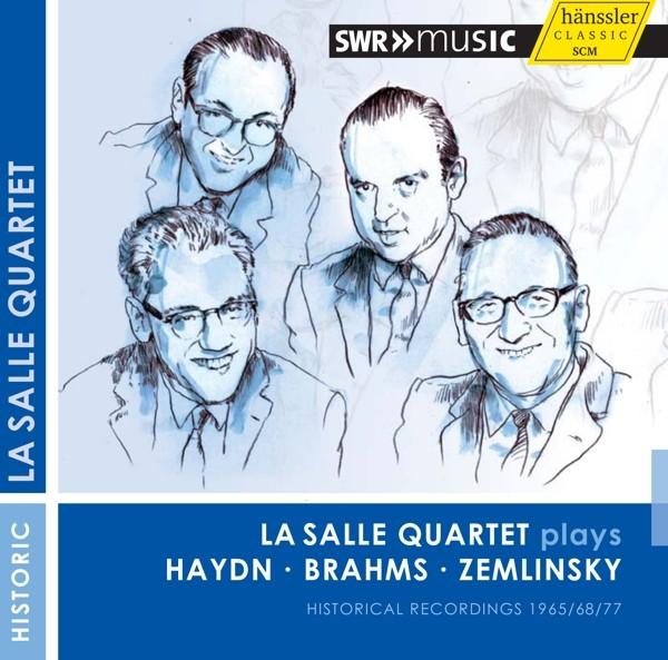 La Salle Quartet plays Haydn Brahms Zemlinsky