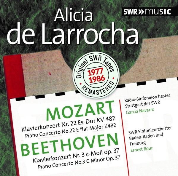 Alicia de Larrocha spielt Mozart und Beethoven-Konzerte