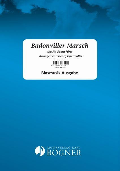 Badonviller Marsch - Noten
