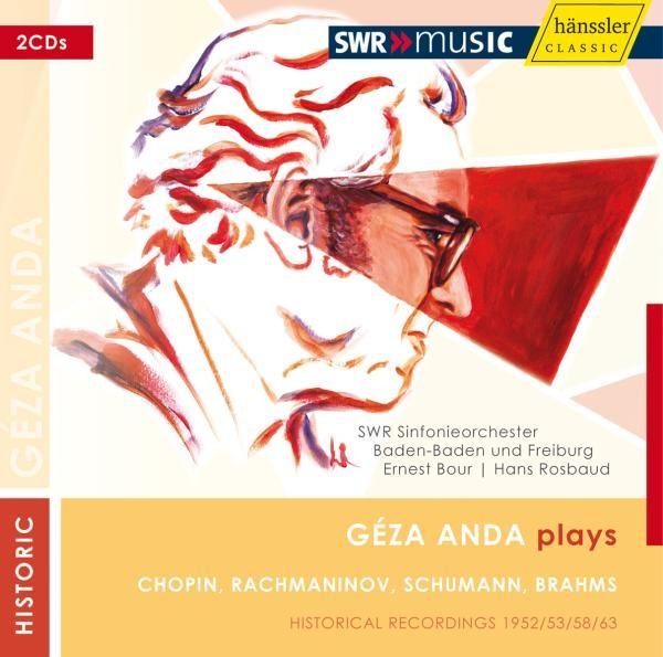Geza Anda spielt Chopin/Rachmaninoff/Schumann/Brahms