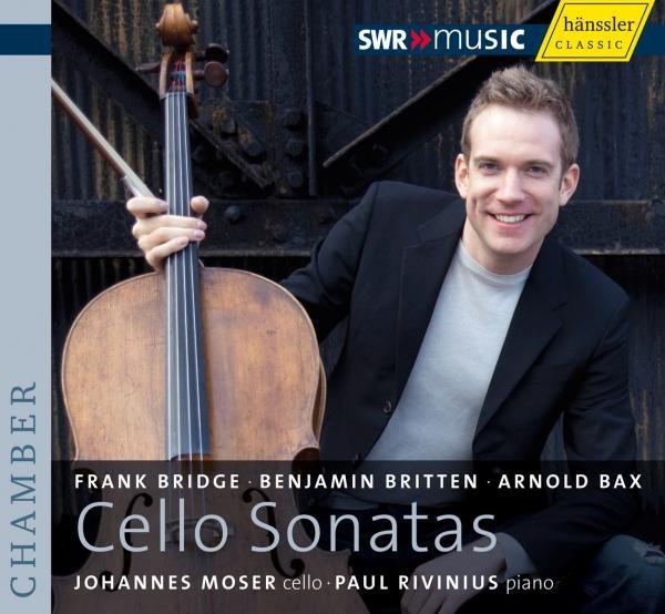 Bridge/Britten/Bax: Cellosonaten