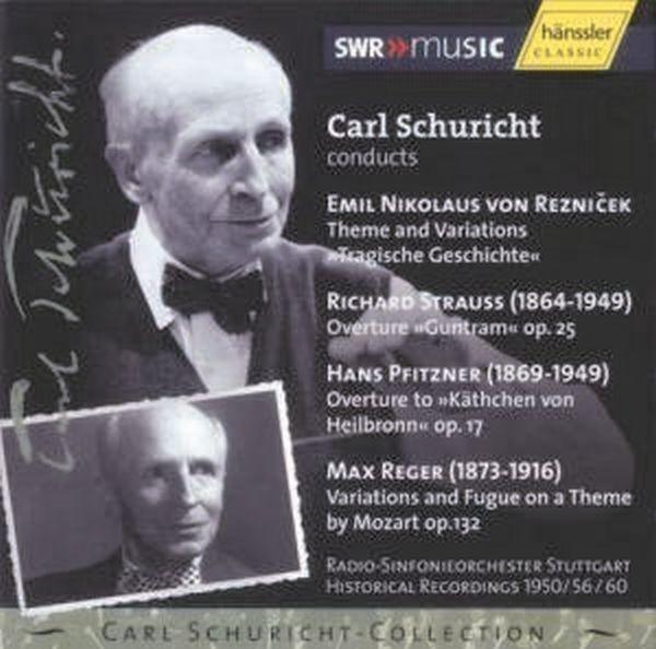 Reznicek/Strauss/Pfitzner/Reger: Orchesterwerke