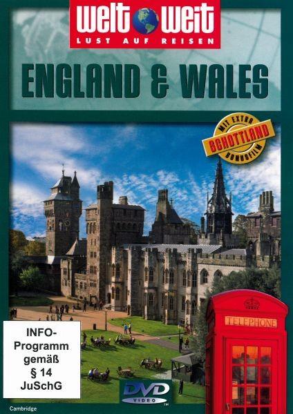 England & Wales (Bonus Schottland) Neuve