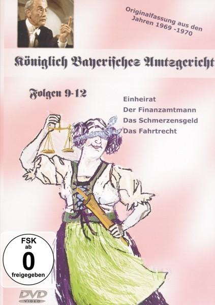 Folgen 9-12,Königlich Bayr.Amtsgericht