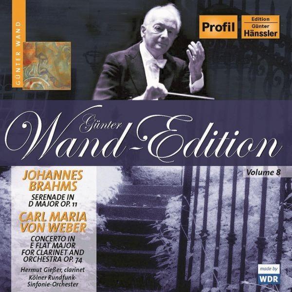 Brahms/Weber: Serenade D-Dur/Klarinettenkonzert