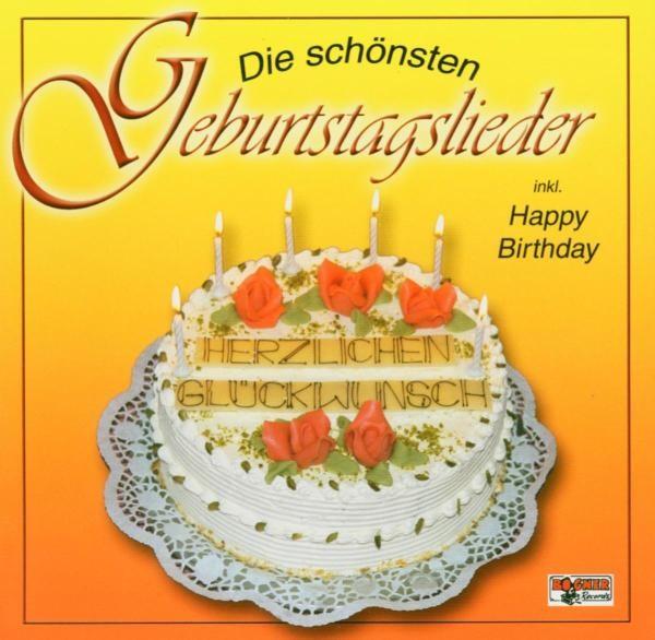 Die schönsten Geburtstagslieder