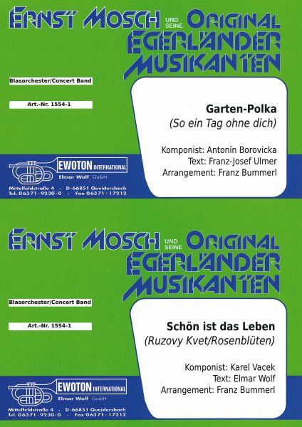 Noten Ewoton Bei Bogner Garten Polka Schon Ist Das Leben Bognermusik Noten Cds Blasmusik Volksmusik