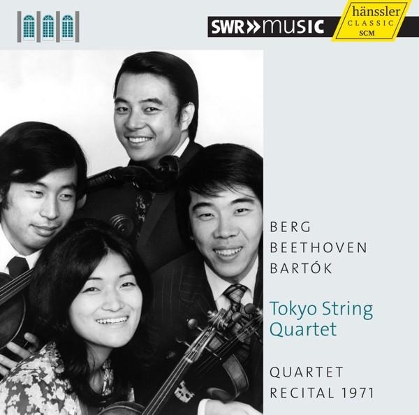 Berg/Beethoven/Bartok: Quartet Recital 1971