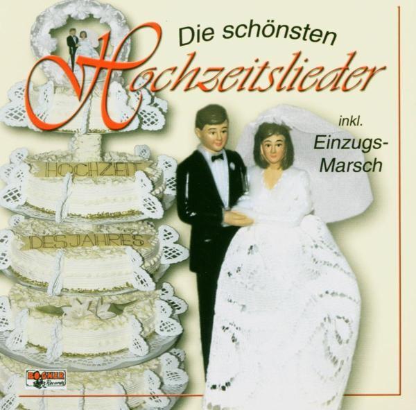 Die schönsten Hochzeitslieder
